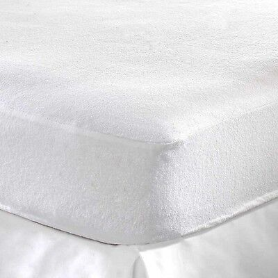 New Terry Towel Waterproof Mattress Fitted Cover/Protector&PillowCover Unbranded