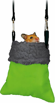 Cuddly Hamster Sack Hanging Bed Bag for Hamsters Mice & Small Rodents