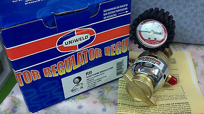 Regulator Acetylene Single Gauge Uniweld #rb