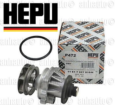 Hepu Brand Water Pump (Made in Germany) BMW  11511740241, 11517527910