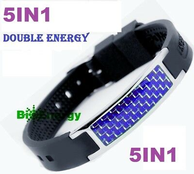 Anion Magnetic Energy  Power Bracelet Health 5in1 Bio Armband BAND GERMANIUM