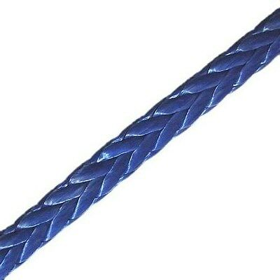 8MM X 20M Dyneema SK75 Winch Rope Synthetic Car Tow Recovery Offroad Cable 4X4