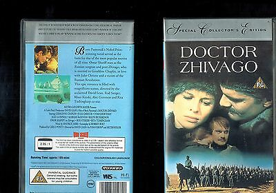 DOCTOR ZHIVAGO - VHS IN LINGUA ORIGINALE