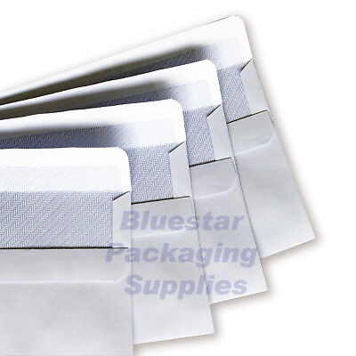 White Self Seal Plain & Window Envelopes DL C6 C5 C4 High Quality 90gsm