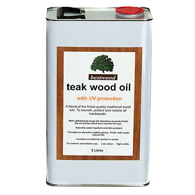Teak Oil 5 Litres, with UV protection, THE FINEST QUALITY, buy direct