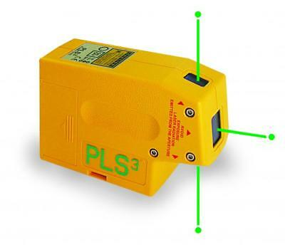 Pacific Laser Systems PLS 3G Green Plumb Level Point Alignment Laser - PLS-60595