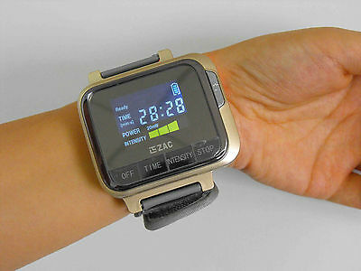 CE blood pressure regulating cold laser acupuncture therapy watch