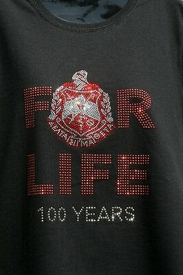 "Delta Sigma Theta ""FOR LIFE"" t-shirt - NEW - size Medium"