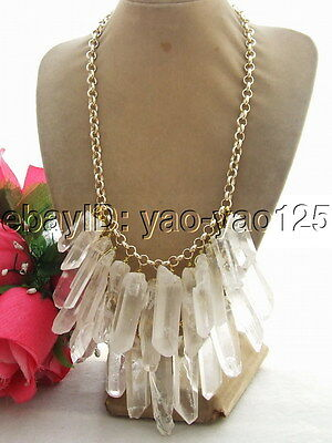 R011308 Beautiful! Natural Crystal Necklace
