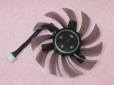 75mm ATI NVIDIA ASUS GIGABYTE Sapphire Video Card Fan Replacement 40mm 12V 0.35A