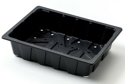 3 Nutley's Half-Size Recycled Seed Trays for Seeds & Cuttings
