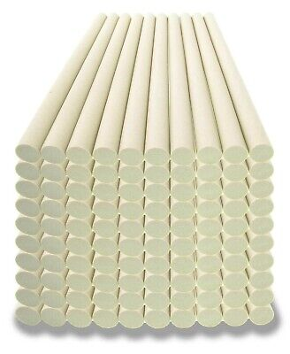 "Lot of 100 Ceramic Knife Sharpener Sharpening Stick Rods 8 1/2"" x 3/8"""