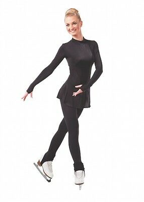 Sansha Stirrup 110 Denier ICE Skating Tights NEW T101 2 colours with clips