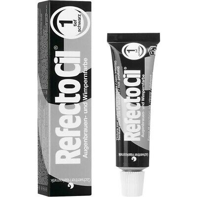 Refectocil Dye Pure Black Eyelash and Eyebrow Professional Tint 15ml Tinting