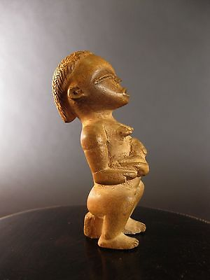 Superb Vintage Dan Maternite Staff Finial Top Dr Congo