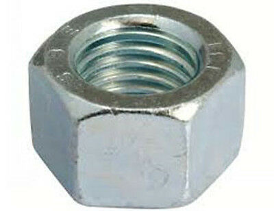 Zinc Plated Metric M6 X 1.0 Hex Nut CL8pack of 40