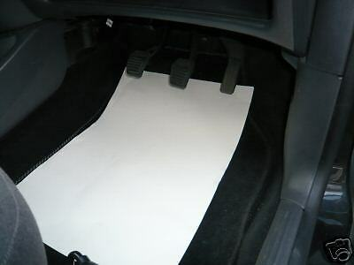 500 Economy Disposable Car Paper Floor Mats