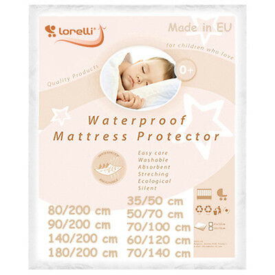 WATERPROOF BABY MATTRESS PROTECTOR washable cover cot bed cradle sheet reusable