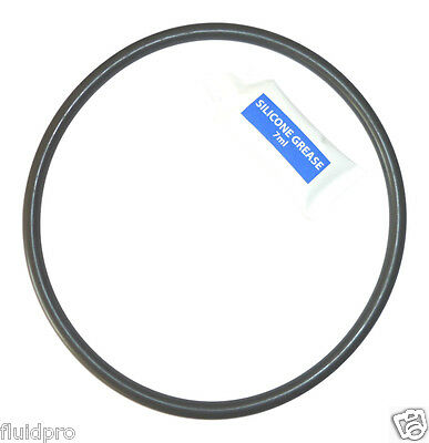 """8"""" Lid O-ring gasket seal 6011 for Lacron / Waterco sand filter + 7ml Sil grease"""