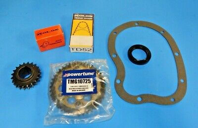 plete Engine Windsor X likewise New Vernier Adjustable Timing Kit Chain Mga Mgb together with D besides Bis also A. on 351w timing cover machined