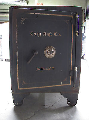 Antique Floor Safe by Cary Safe Company