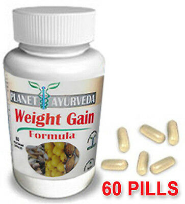 Weight Gainer Pills - Fast Gain Weight Fast - Gain Mass on Body 60 tablets