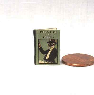 PHANTOM OF THE OPERA Miniature Book Dollhouse 1:12 Scale Readable Book