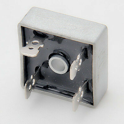 Squared Metal Case 4Pins 1Phase KBPC5010 1000V 50A Bridge Rectifier Diode Bridge