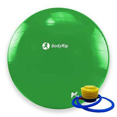 BodyRip GREEN EXERCISE GYM YOGA SWISS 65cm BALL GYM FITNESS AB ABDOMINAL TONE