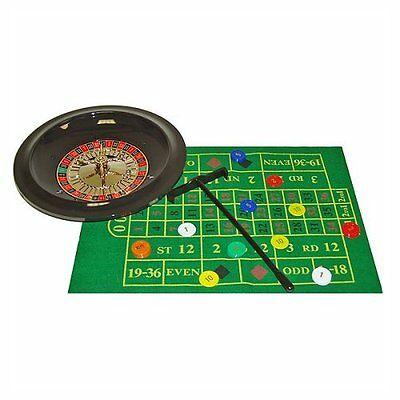 NEW Trademark Poker 10-TFB311-10 Deluxe Roulette Set with Chips