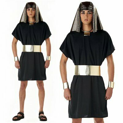 Egyptian Prince Pharaoh Ancient King Halloween Nile Men Stag Fancy Dress Costume