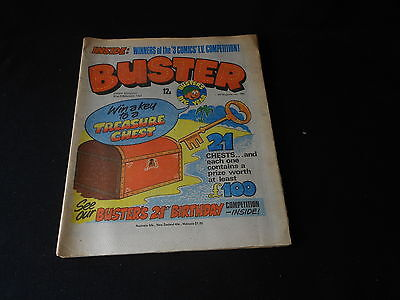 Buster Comic 21st February 1981