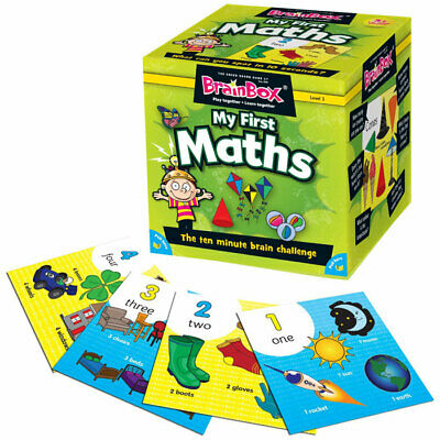 My First Maths BrainBox Memory Game - Children's Maths Games for Key Stage 1