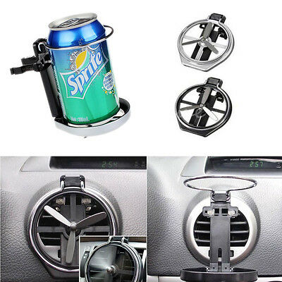 Universal Truck Car Air-Outlet Drink Bottle Cup Folding Holder Stand With Fan