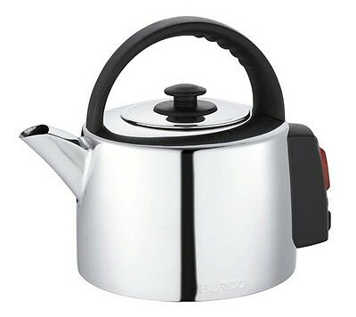 Burco KTL02 Commercial Large 2 Litre Stainless Steel Traditional Catering Kettle