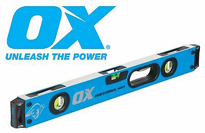 OX Pro Series 600mm Shock Proof Spirit Level Strongest On the Market P024406