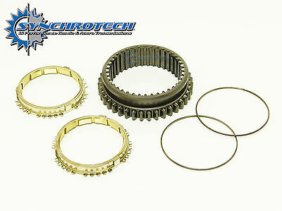 89-91 Cable B Series Synchrotech Brass Synchro 1-2 Sleeve Set