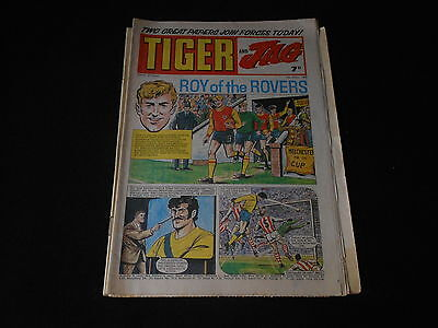 Tiger and Jag comic Roy of the Rovers 5th April 1969
