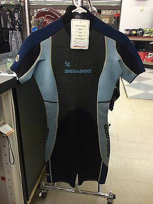 Sea-Doo De Ladies Wetsuit Freewave Shorty