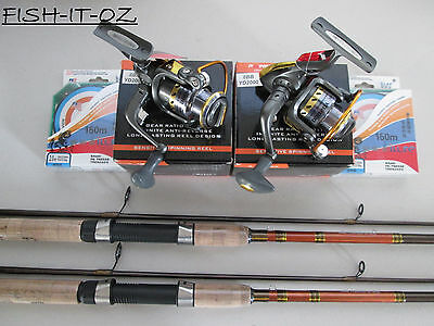 Yd 2000 Spinning Reel & Daiwa Crossfire Spinning Rod & Spectra Line Twin Combo