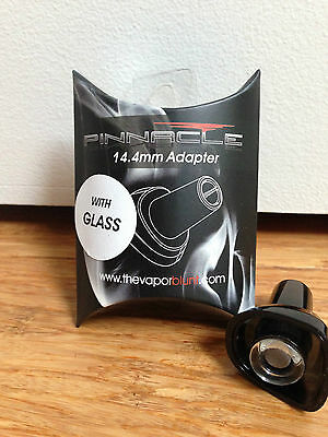 Pinnacle Pro Vaporizer 14mm Glass GPonG GonG PonG adapter Chamber Cap Vaporblunt