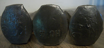 """Railroad Train Track Steel Antique Spikes Set of 3 Crude~ High Carbon 6.5""""-6 5/8"""