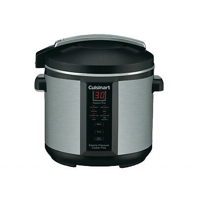 Cuisinart Pressure Cooker Plus RRP $199.00 New Slow Cooker Feature & Cook Book