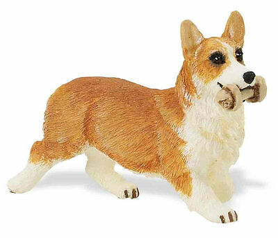 PEMBROKE CORGI DOG by SAFARI WORKS WELL WITH SCHLEICH AND PAPO - 254829