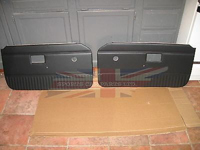 New Pair of Door Panels for MGB 1970-76 Made in UK Without Chrome Strip