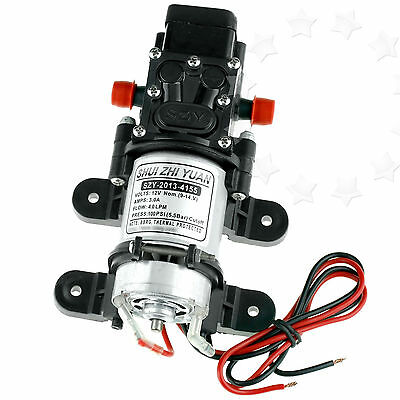 High Pressure Diaphragm Water Pump 12V 100PSI 4L/Min For Car Marine Yacht Boat