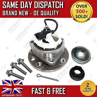 Vauxhall Vectra C,signum 5 Stud Black Plug Front Wheel Bearing Hub With Abs