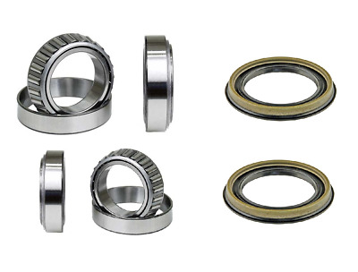 Front Wheel Bearing & Race & Seal Kit For 1971-1980 FORD PINTO 2WD 4WD Wheels, Tires & Parts Wheel Hubs & Bearings