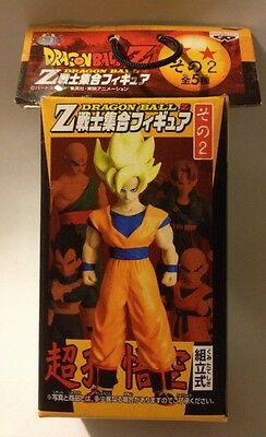 Banpresto DragonBall Z Super Saiyan Goku figure Part 2 Rare DBZ