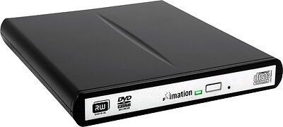 Imation Slim External DVD 8x Recorder - DVD+RW, DVD-RW